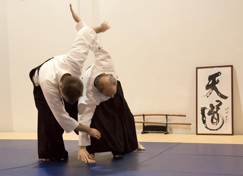 Aikido, Kampf um die japanische Kampfkunst